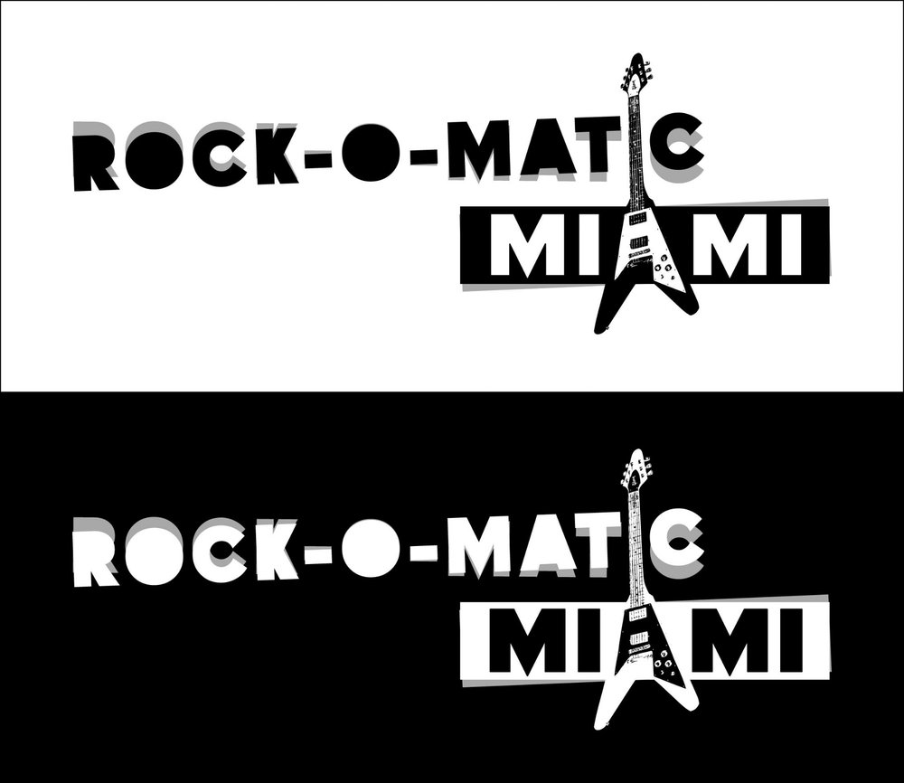 Rock-O-Matic Miami Logo