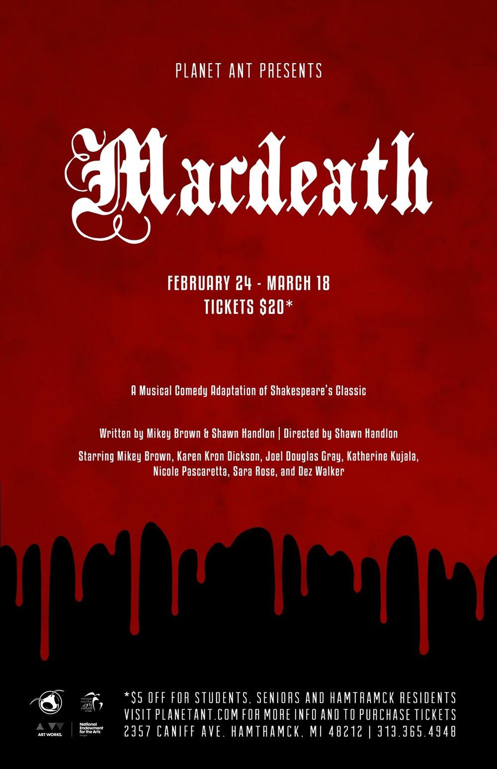 Macdeath Poster