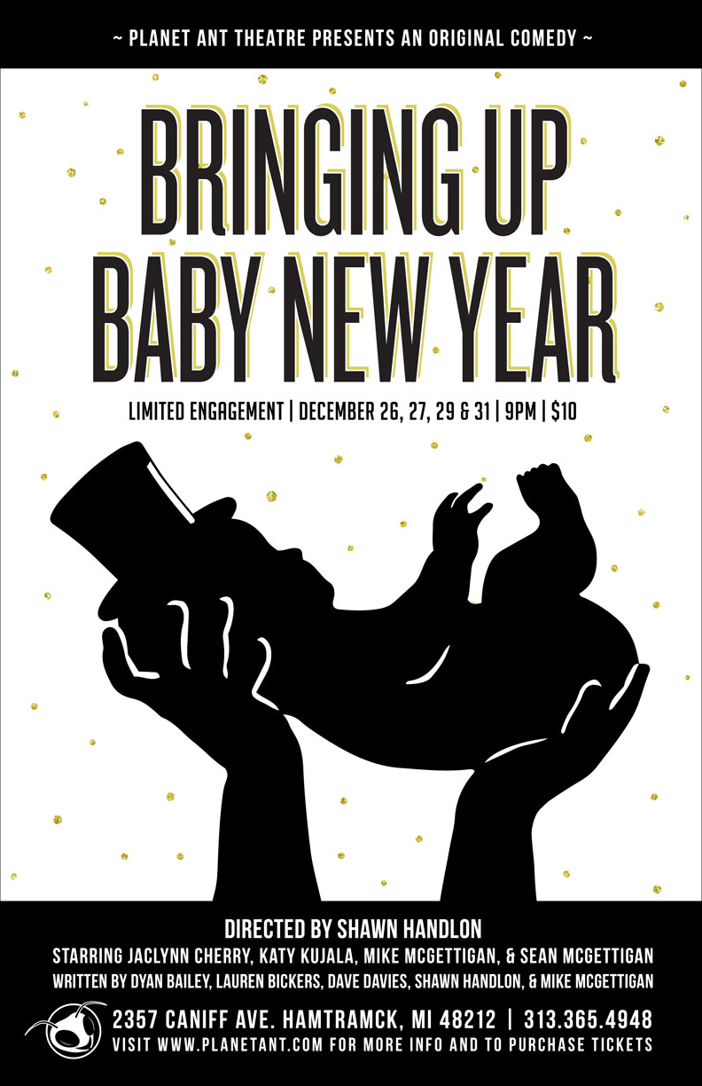 Bringing Up Baby New Year Poster