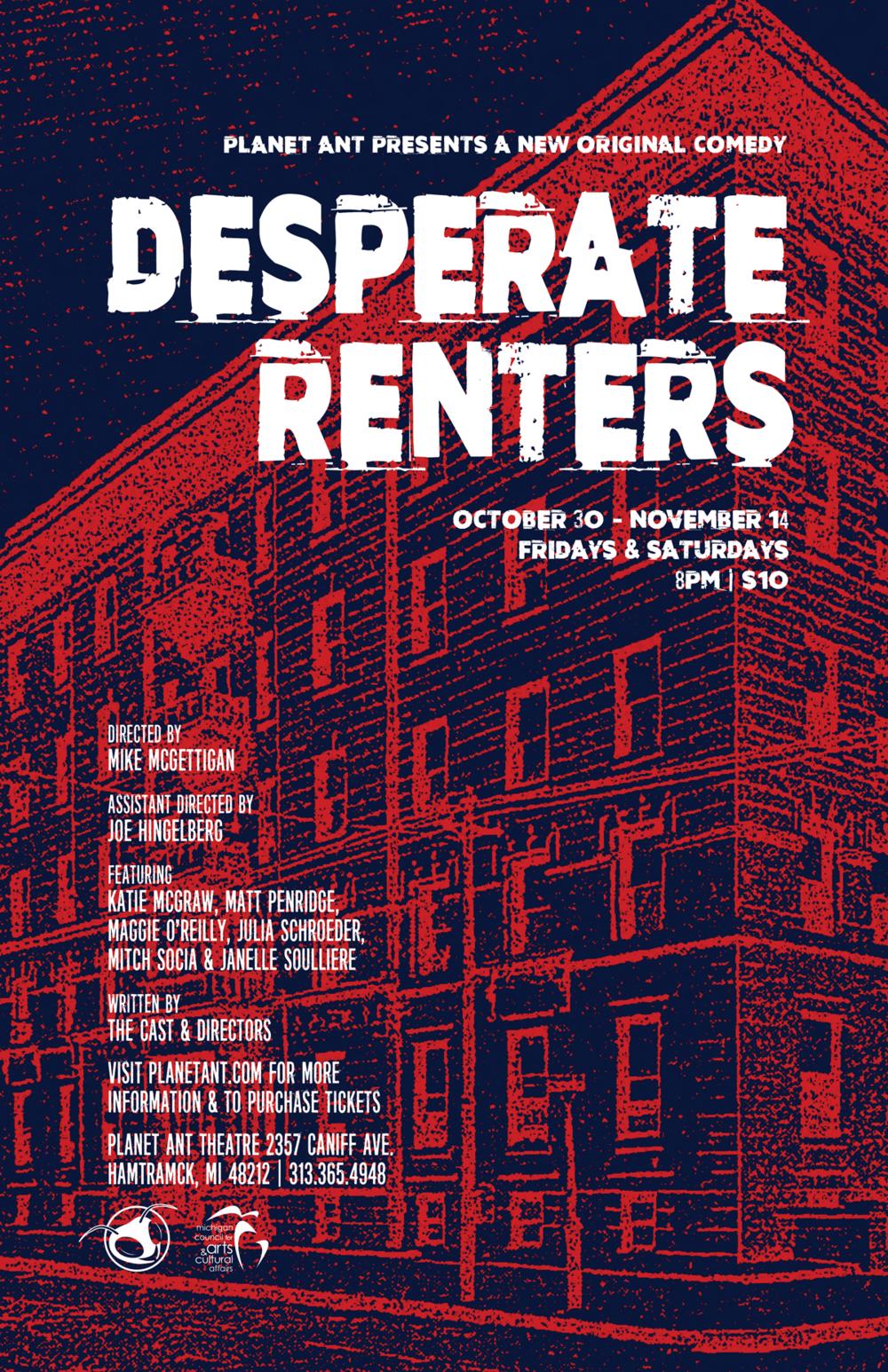Desperate Renters Poster