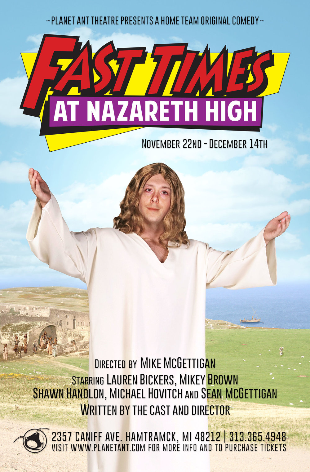 Fast Times at Nazareth High Poster