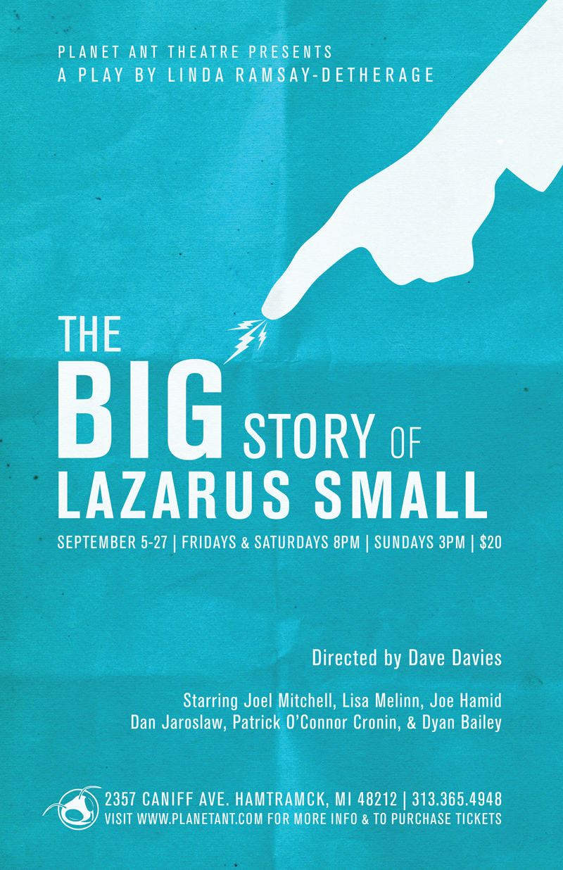 The Big Story of Lazarus Small Poster