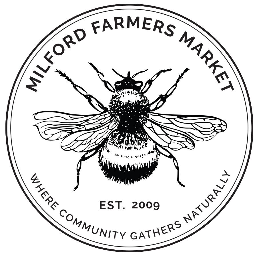 Milford-Farmers-Market_Bee_B&W.jpg