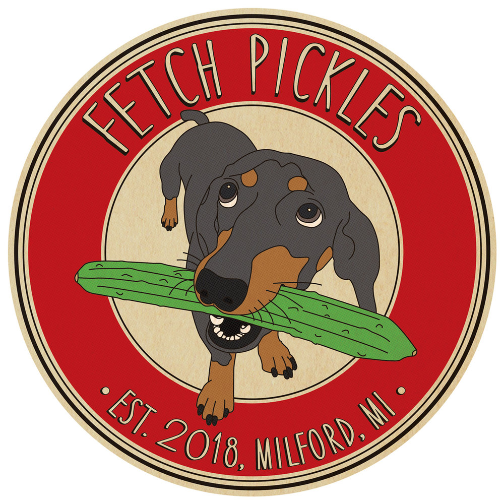 Fetch Pickles Logo