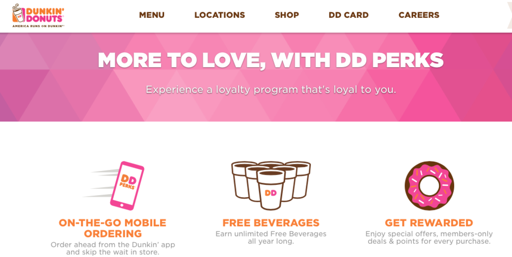 Courtesy of dunkindonuts.com