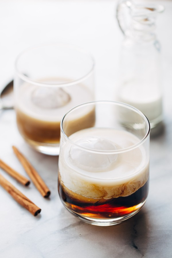Cinnamon White Russian from Pinch of Yum