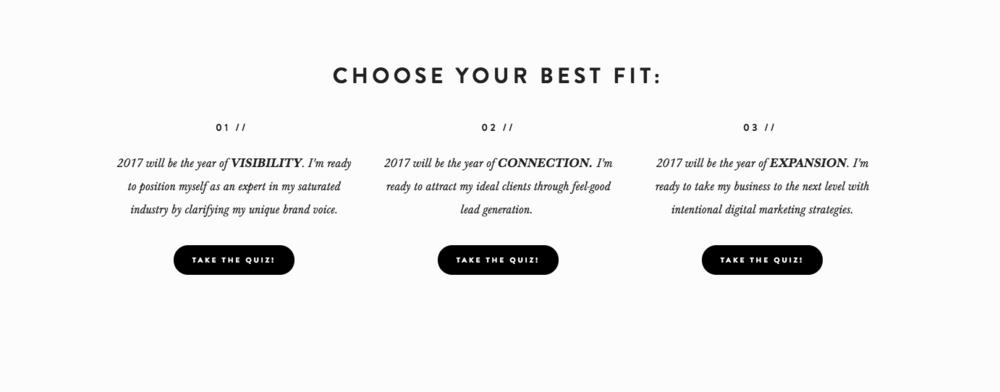 Take the quiz on  KaylaHollatz.com .