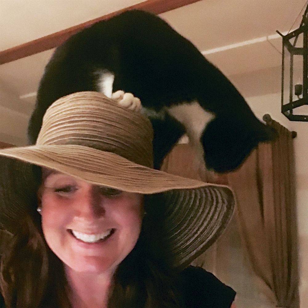 Wine Maven (and woman with a cat on her hat) Tyla Nattress