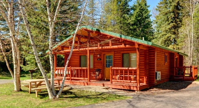 Kosher rustic cabin