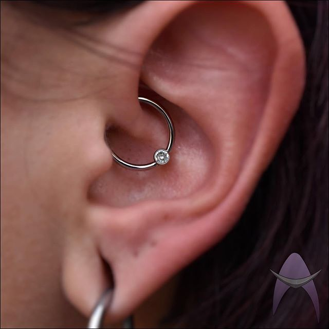 Fresh daith on the lovely @birdybrainz done by @piercingbythomas with some titanium goodness!  #piercing #piercings #daith #daithpiercing #daithpiercings #daithjewelry #daithhoop #daithring #piercingdaith #cartilage #cartilagepiercing #cartilagejewelry #piercinginspo #piercinginspiration #piercingjewelry