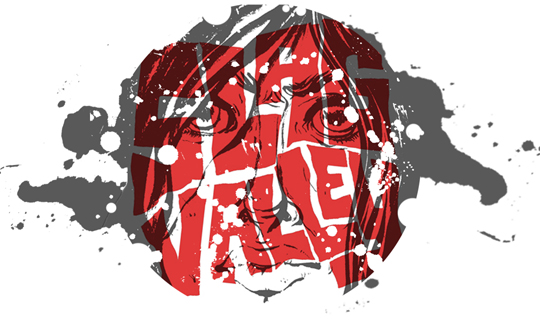 "Logo for short comic ""Slag Valley"" [collaboration with Justin McLean Wheeler]"