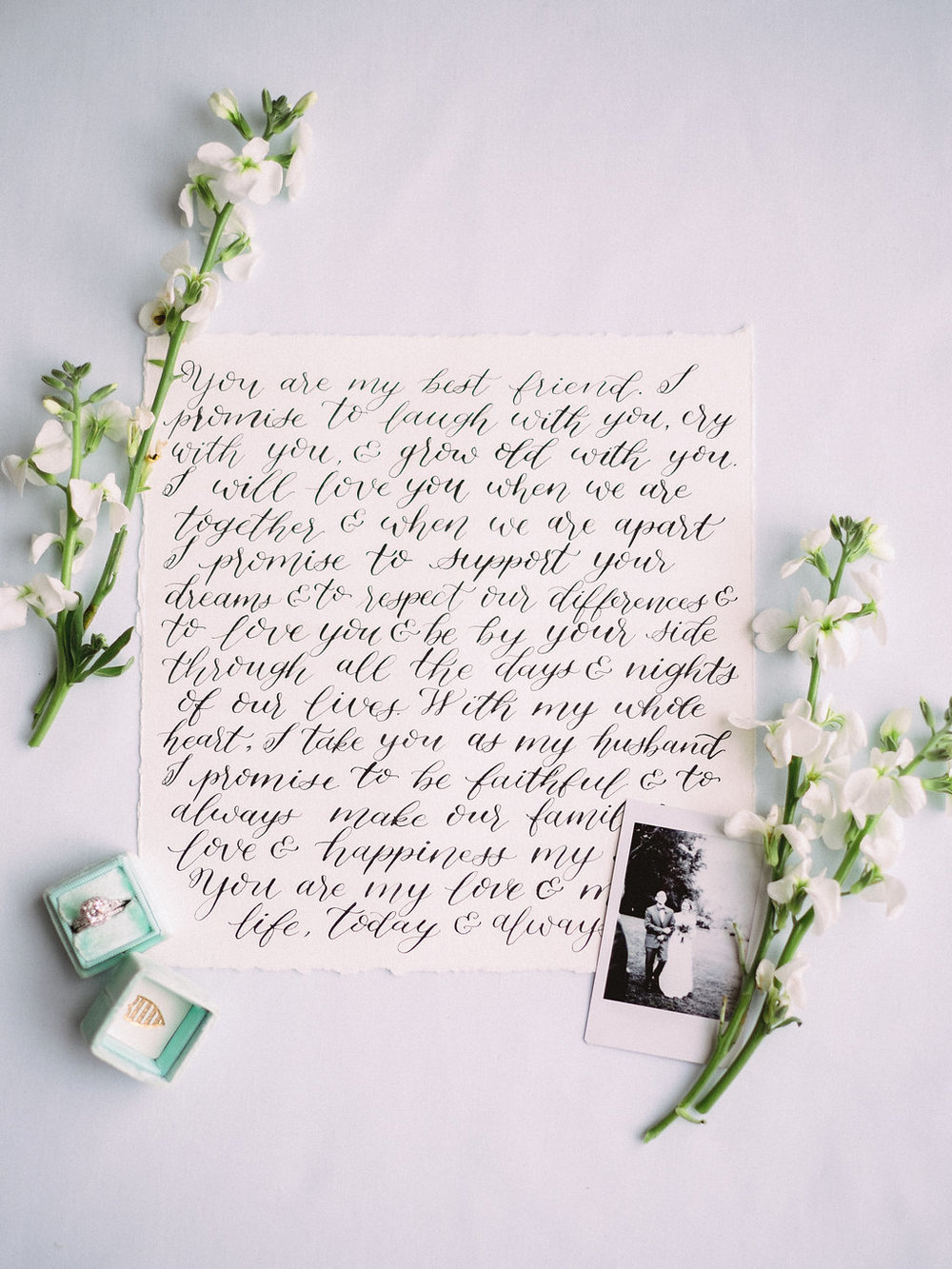 Vow Calligraphy