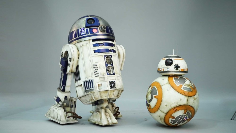 Luke and Rey, both had droids: R2D2 & BB8 respectively, but besides a robotic sidekick do they have more in common? -