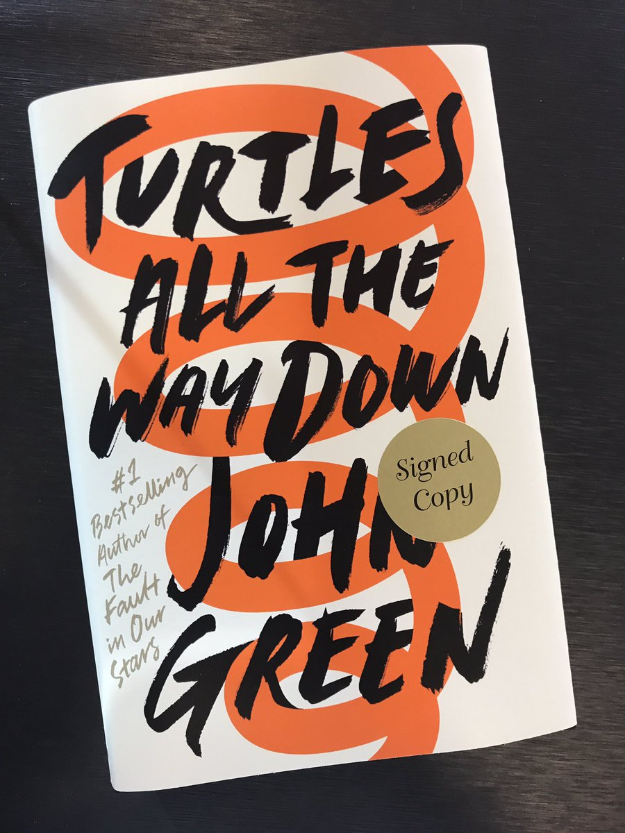 Turtles All the Way Down is the first novel from YA fan-favorite John Green since the release of his 2012 phenomenon The Fault in Our Stars.  -