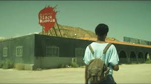 Black Museum starts with a girl on a journey. -