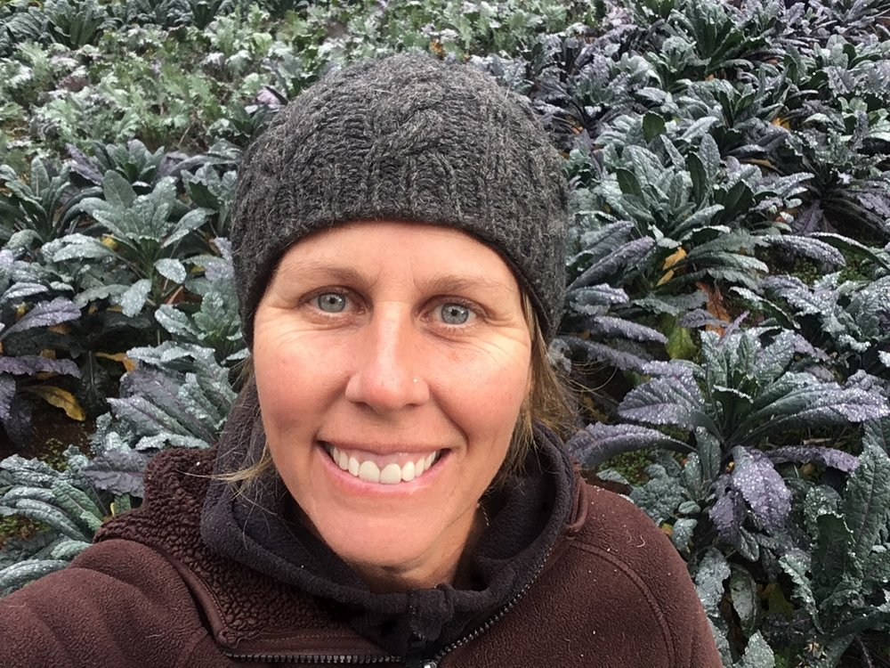 Jen Aron: Lead Instructor and Farm Manager for Bridge City Farm School. -