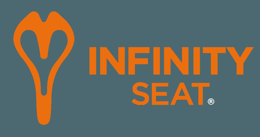 infinity bike seat logo