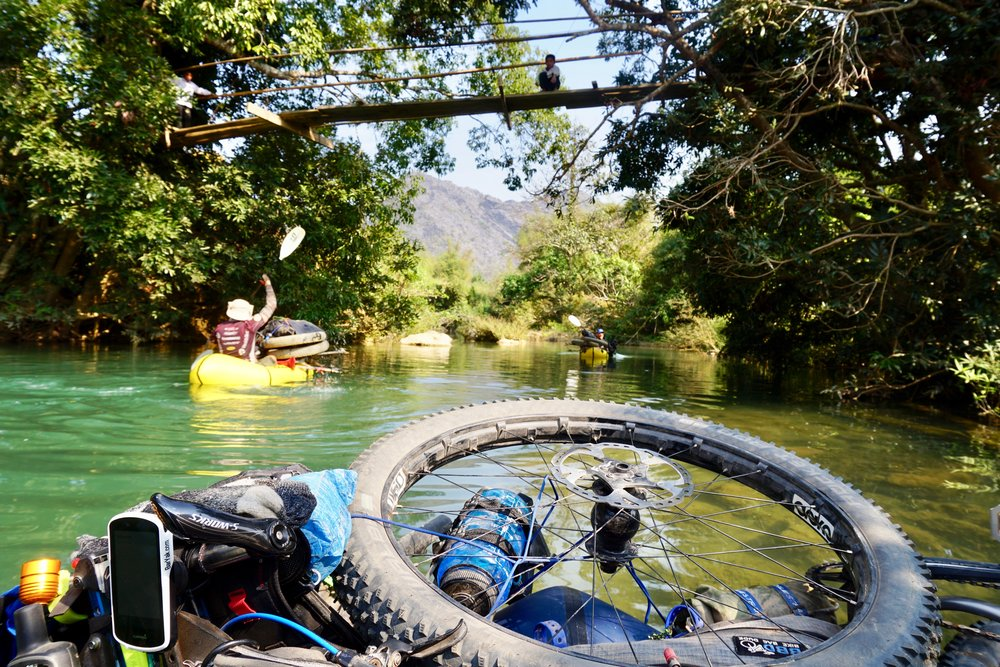 Ho Chi Minh Trail Packrafting