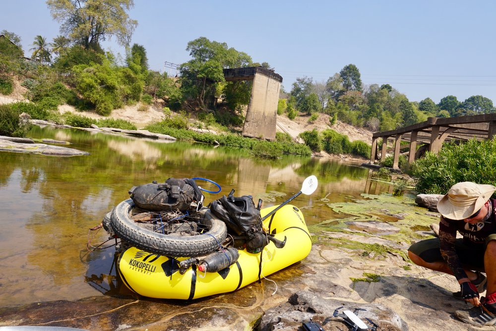 Ho Chi Minh Trail rafting