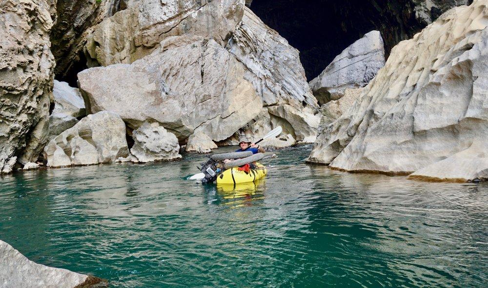Ho Chi Minh Trail rafting laos