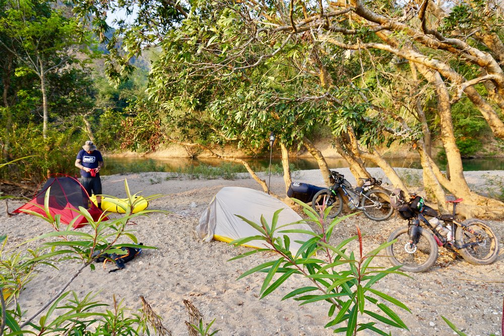 Ho Chi Minh Trail Camping