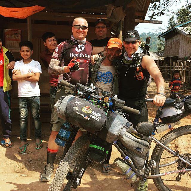 Bikepacking life #laos #vietnam #bikepacking #cycle #cylcetouring #biketouring #adventure #lifeofadventure #adventures #adventuretime #travel #travelgram #instatravel #traveling #traveling  #sleepinthedirt #45nrth #baryak  #rideshimano #Bikepackinggear #raftingtours #rafting #raftingtrips #packrafting #packraft #bikerafting #hochiminhtrails
