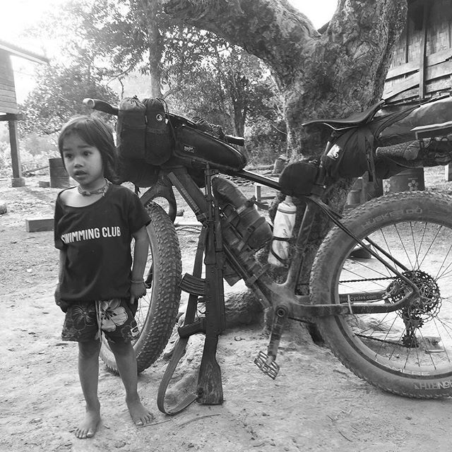 Bikepacking In war  #laos #vietnam #bikepacking #cycle #cylcetouring #biketouring #adventure #lifeofadventure #adventures #adventuretime #travel #travelgram #instatravel #traveling #traveling  #sleepinthedirt #45nrth #baryak  #rideshimano #Bikepackinggear #raftingtours #rafting #raftingtrips #packrafting #packraft #bikerafting #hochiminhtrails