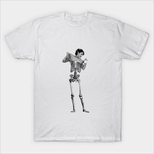 Skeleton Woman Shirt