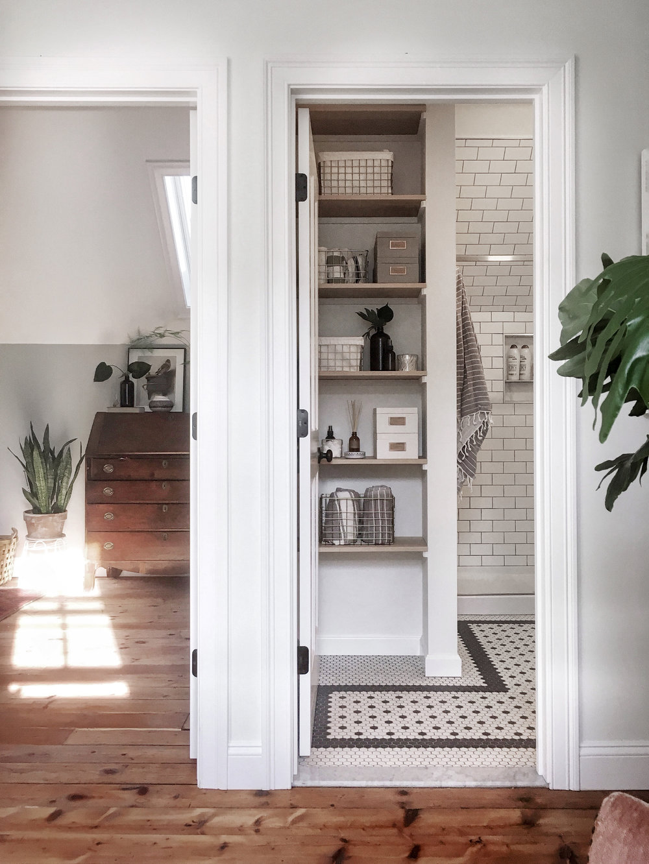 The Modern, Vintage Bathroom — Howlett & Co