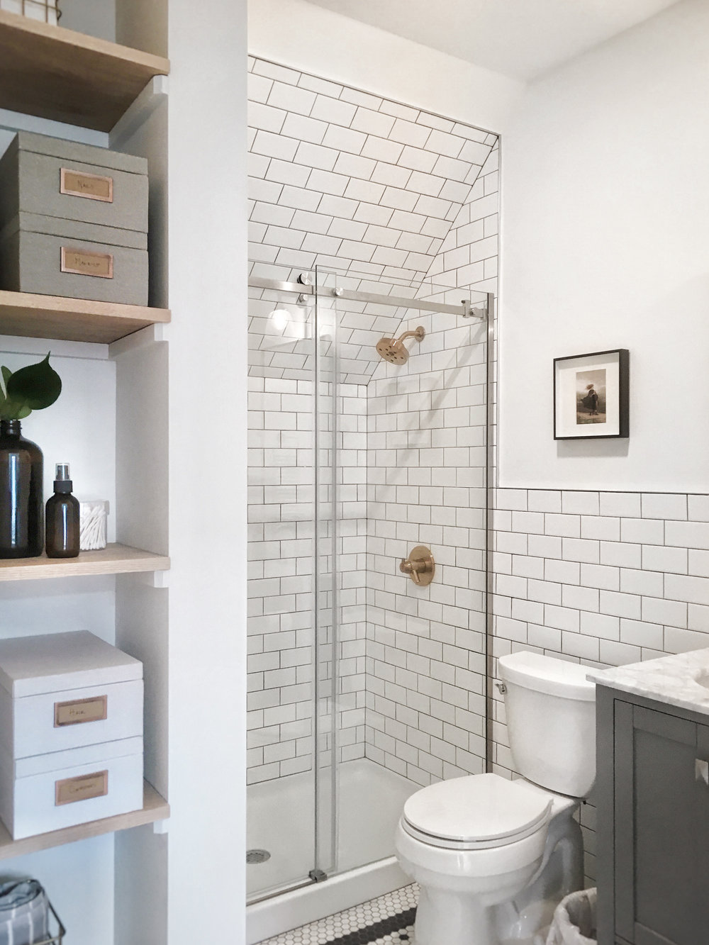 The Modern, Vintage Bathroom — Howlett & Co
