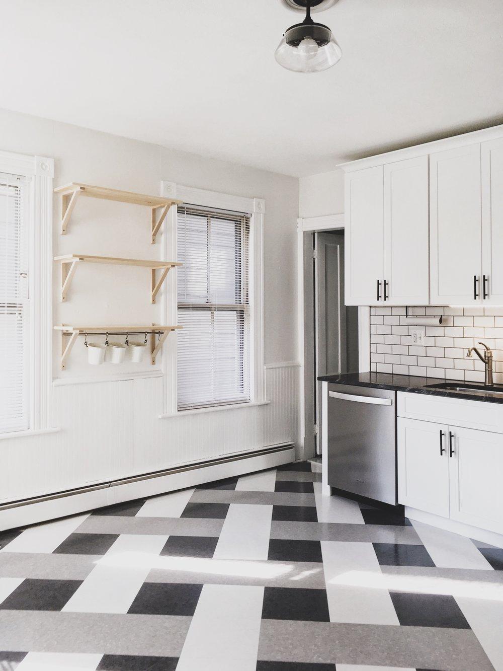 Tenant Kitchen Revamp — Howlett & Co