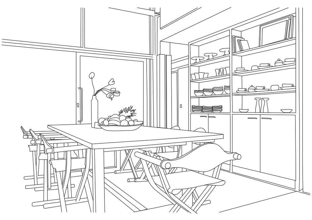 My room illustration