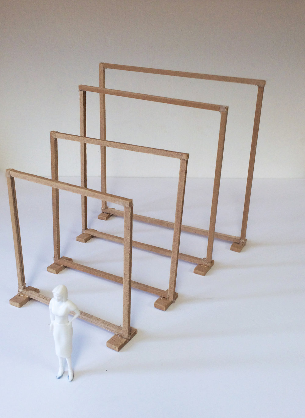 Early model of the frames