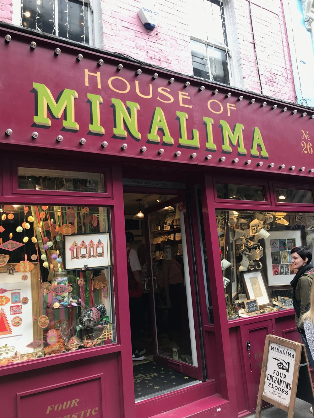 Visited the House of Minalima 2017, exhibition about the graphic design behind the Harry Potter films