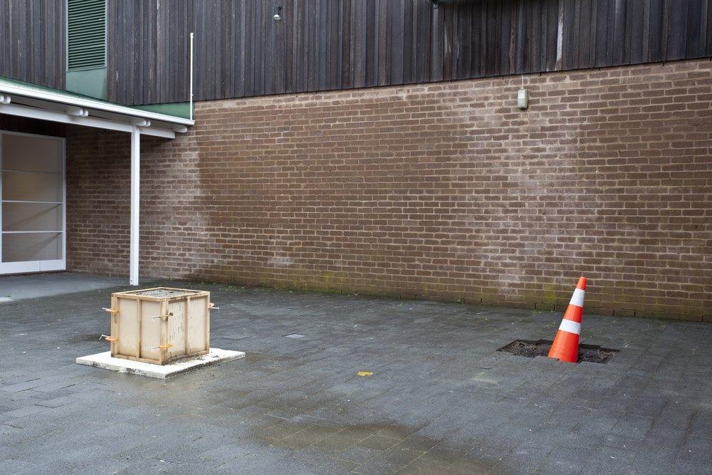 01/03/2011 - 01/05/2011, Te Tuhi Courtyard Installation detail hoto by Sam Hartnett