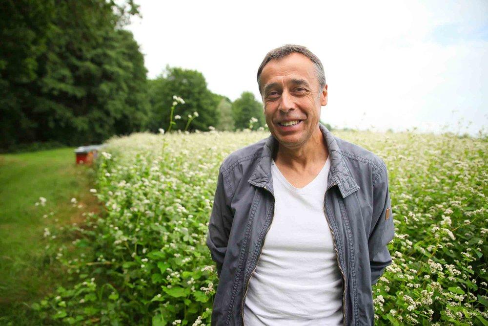 Gilbert, agriculteur meunier -