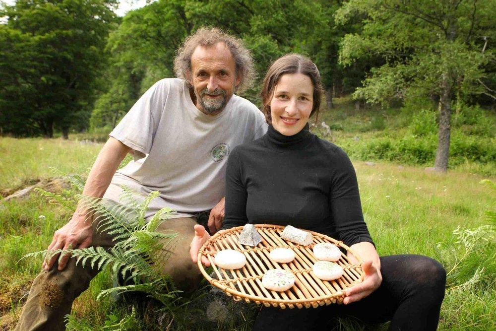 Martin et Eloïse, éleveurs de chèvres -
