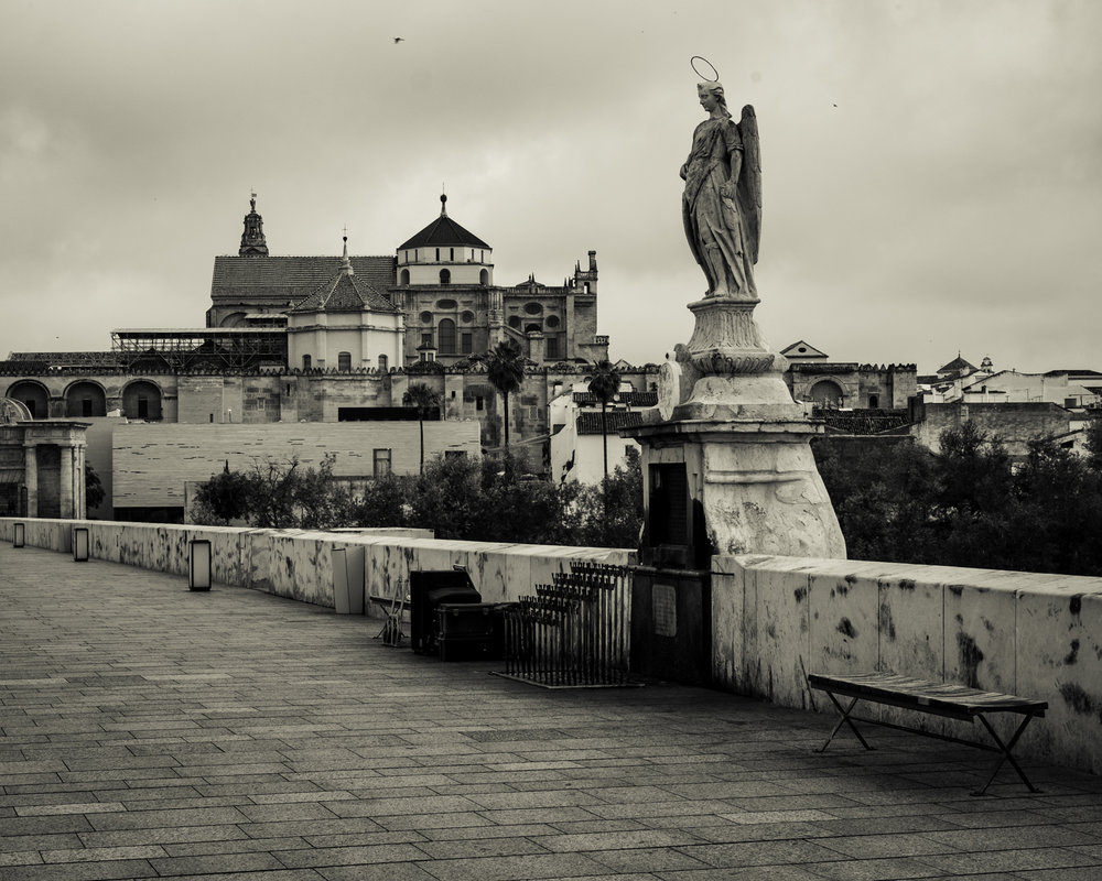 Mezquita from the Puente Romano, Cordoba