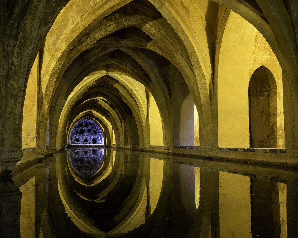 Baths of Donna Maria de Padilla, Real Alcazar, Seville