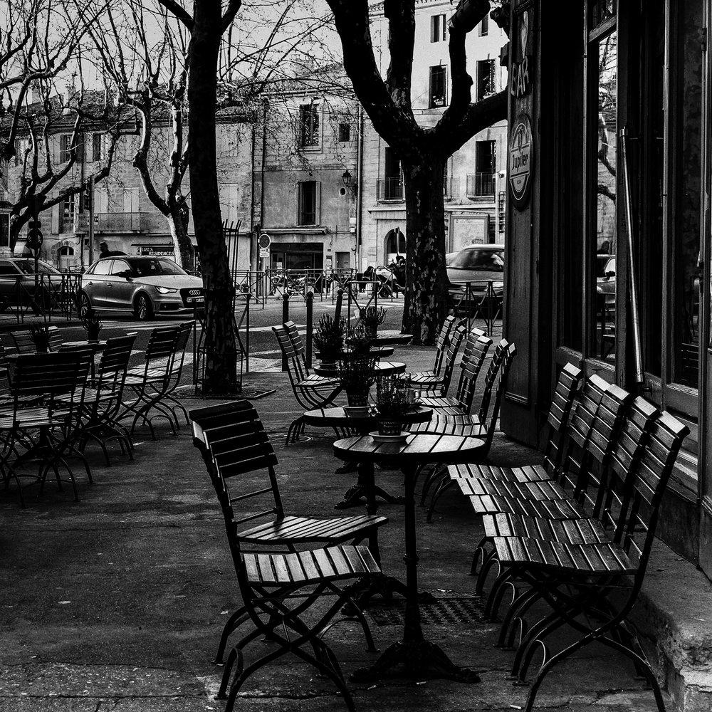 Sidewalk Cafe, Uzès