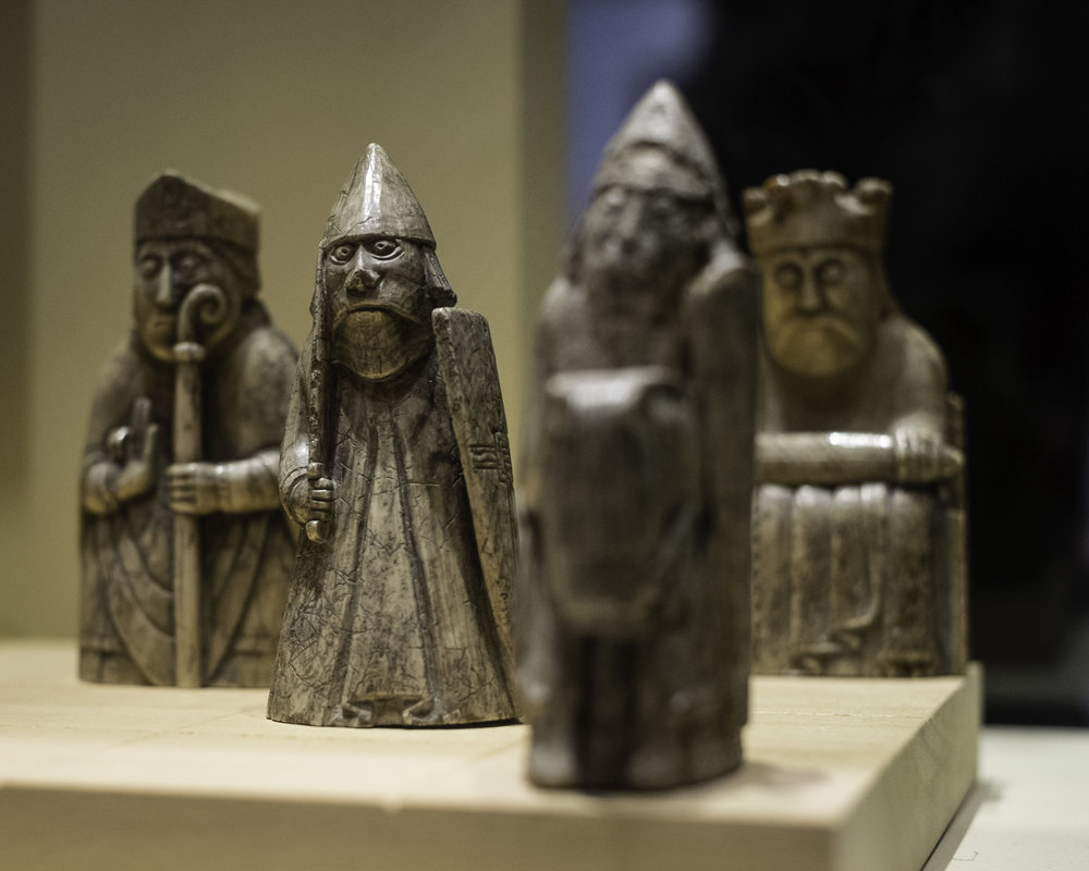 The Lewis Chessmen, National Museum of Scotland, Edinburgh