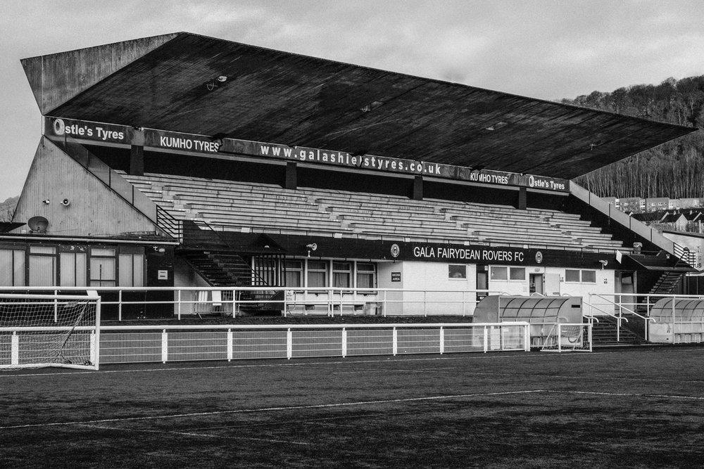 Gala Fairydean FC Stand 1964 1