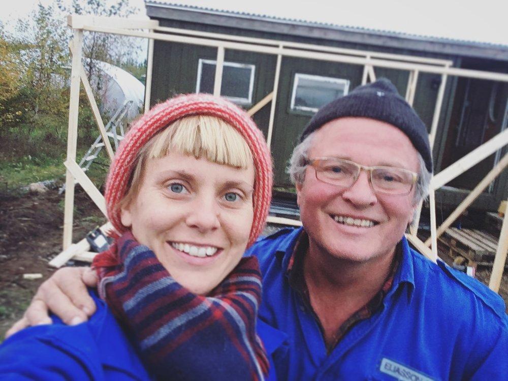 De to glade amatører som velger å bygge i november!