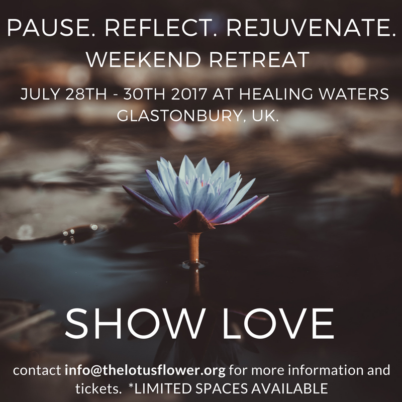Pause Reflect Rejuvenate Lotus Flower