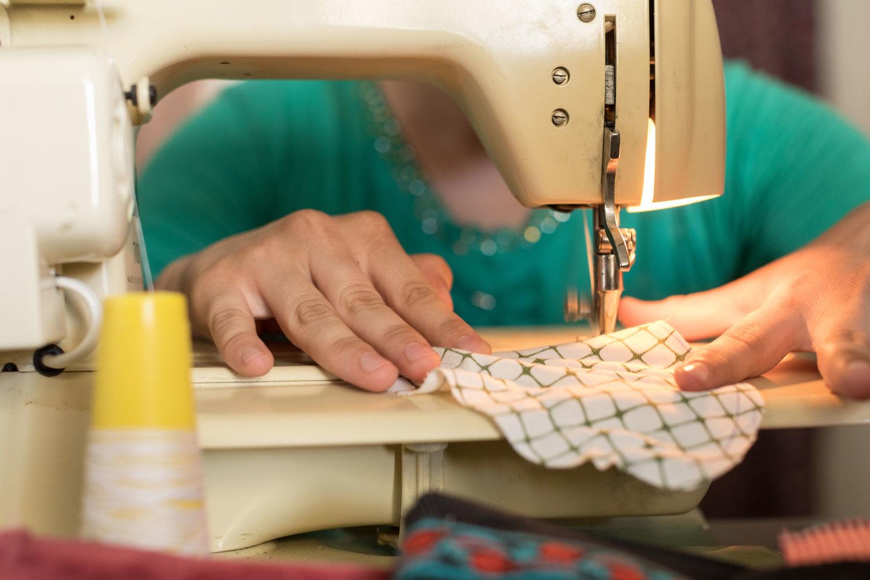Sewing Sisters Lotus Flower