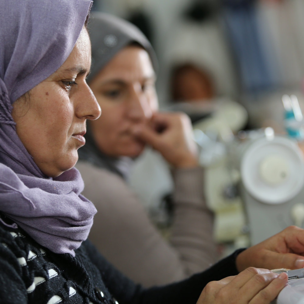 EARN - Women and girls we train use their newly learned skills to earn money and become self-sufficient, gaining their financial freedom and independence.