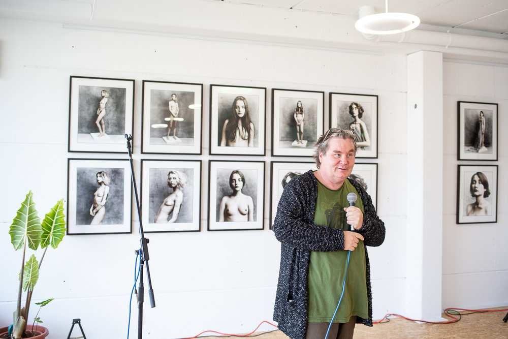 Jan Schlegel sharing about his photo series