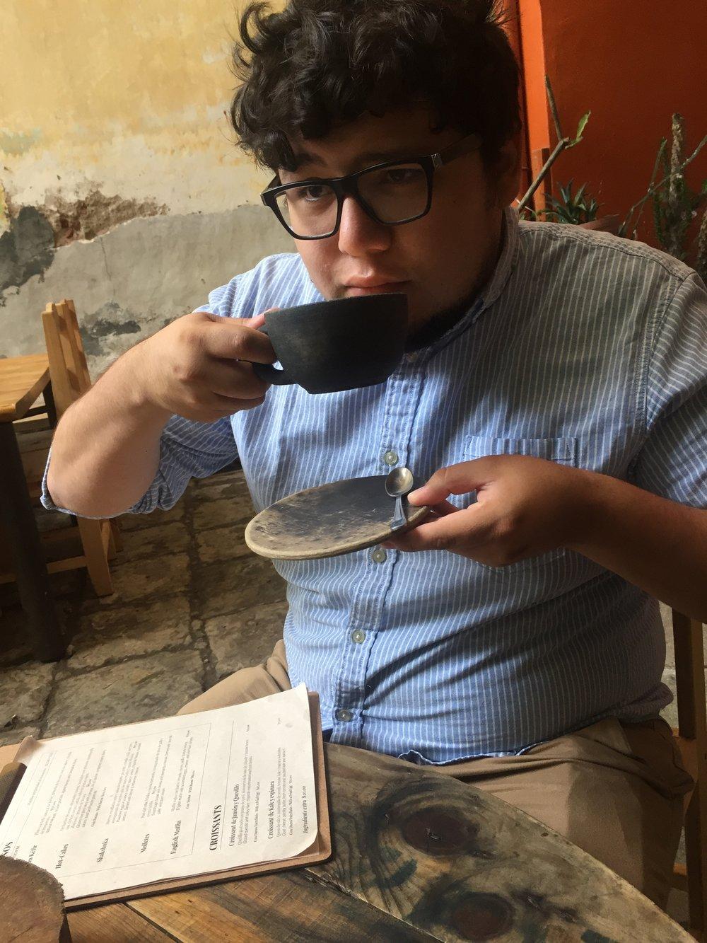 Café Boulenc en Oaxaca de Juárez, Oaxaca.