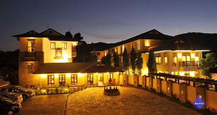Your Himalayan style hotel