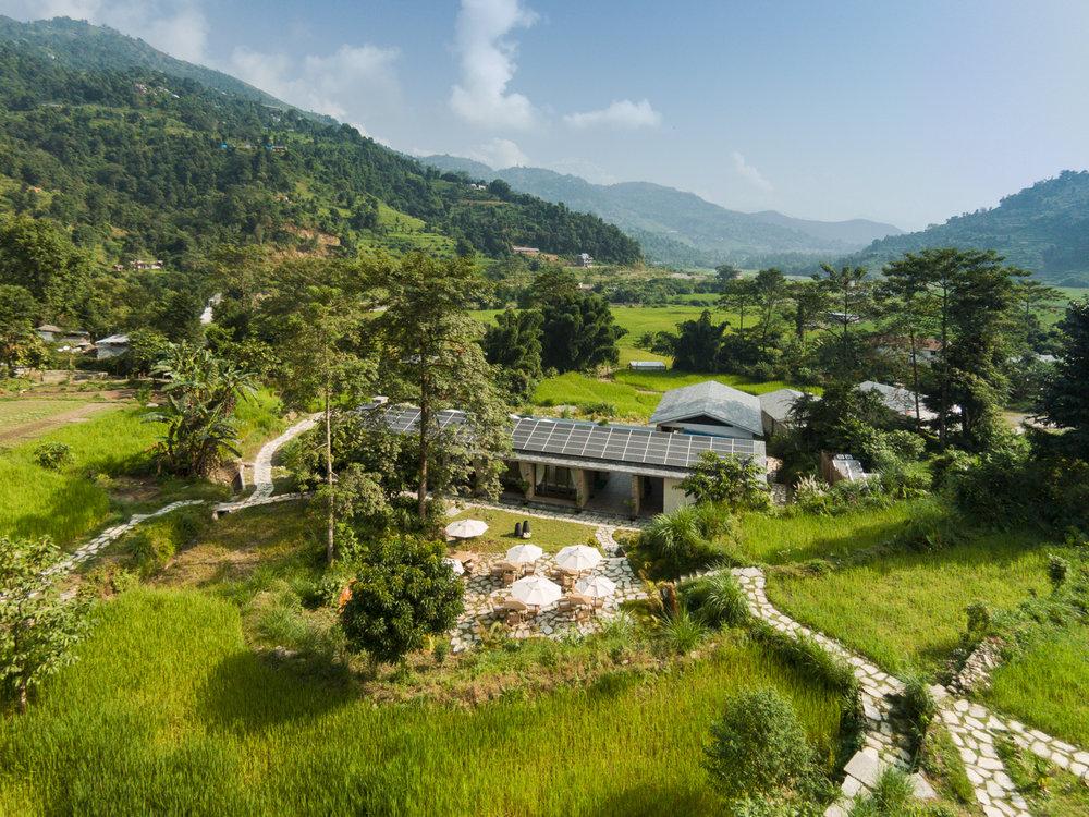 The Pavilions eco-luxury resort